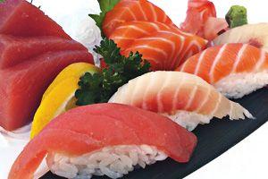 6 Sashimi 3 Sushi Combo