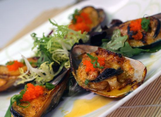 Baked Mussel (3pcs)