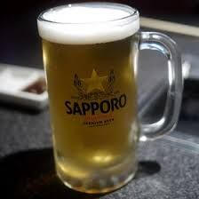 Beer (Sapporo Draft Pitcher)