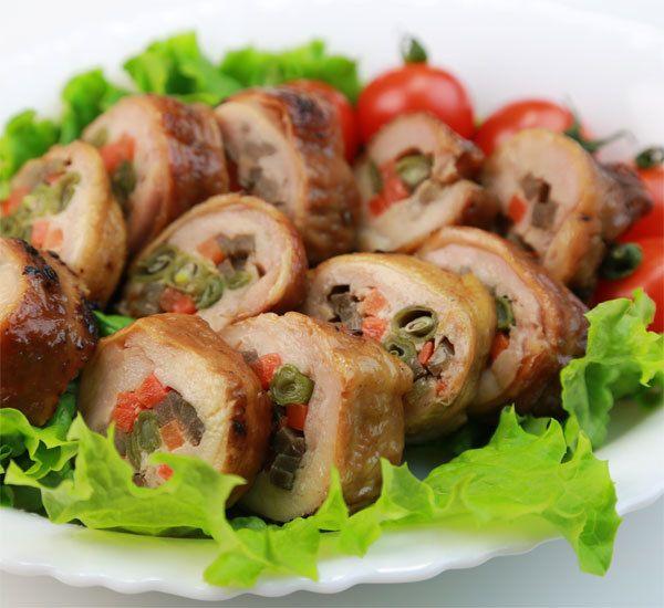 N.R. Teriyaki Chicken (chicken, crabmeat, avocado)