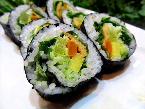 Vegetable Roll (avo, cucumber, gobo, asparagus)